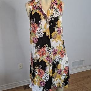 Cupio - floral tunic dress